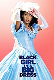 Black Girl in a Big Dress Poster