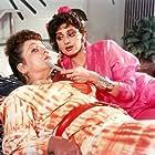 Sridevi and Rohini Hattangadi in Chaalbaaz (1989)