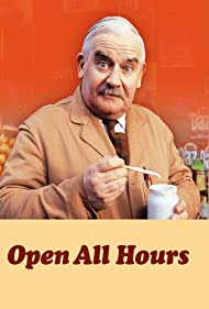 Ronnie Barker in Open All Hours (1976)