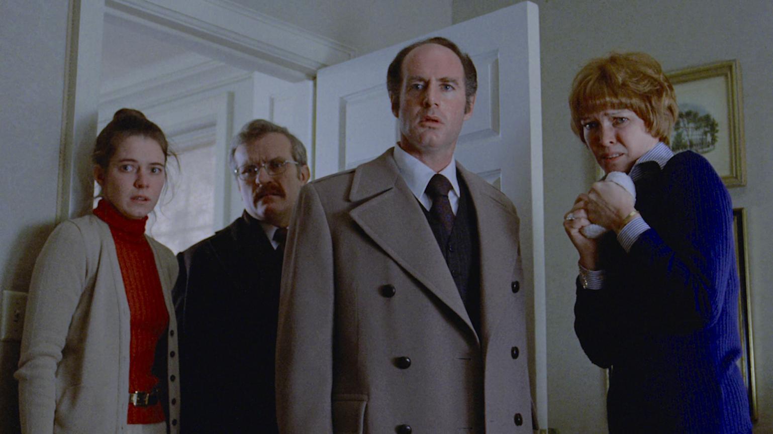 Ellen Burstyn, Barton Heyman, Robert Symonds, and Kitty Winn in The Exorcist (1973)