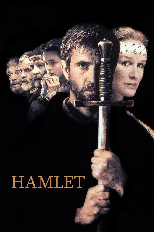 Mel Gibson, Helena Bonham Carter, Glenn Close, Ian Holm, Alan Bates, and Trevor Peacock in Hamlet (1990)