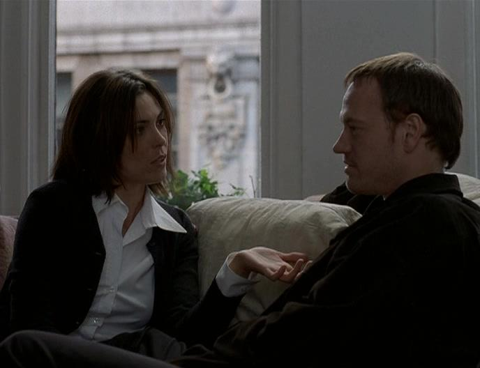 Michelle Forbes and D.W. Brown in Perfume (2001)