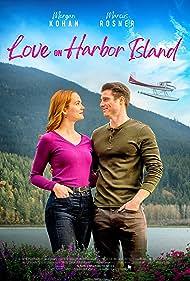 Marcus Rosner and Morgan Kohan in Love on Harbor Island (2020)