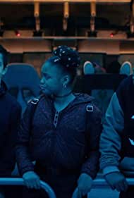 Keith L. Williams, Bryce Gheisar, and Kayden Grace Swan in The Astronauts (2020)
