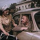 Konstantin Adashevsky and Ariadna Shengelaia in Ostorozhno, babushka! (1961)