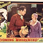 Lane Chandler and Adele Lacy in The Wyoming Whirlwind (1932)