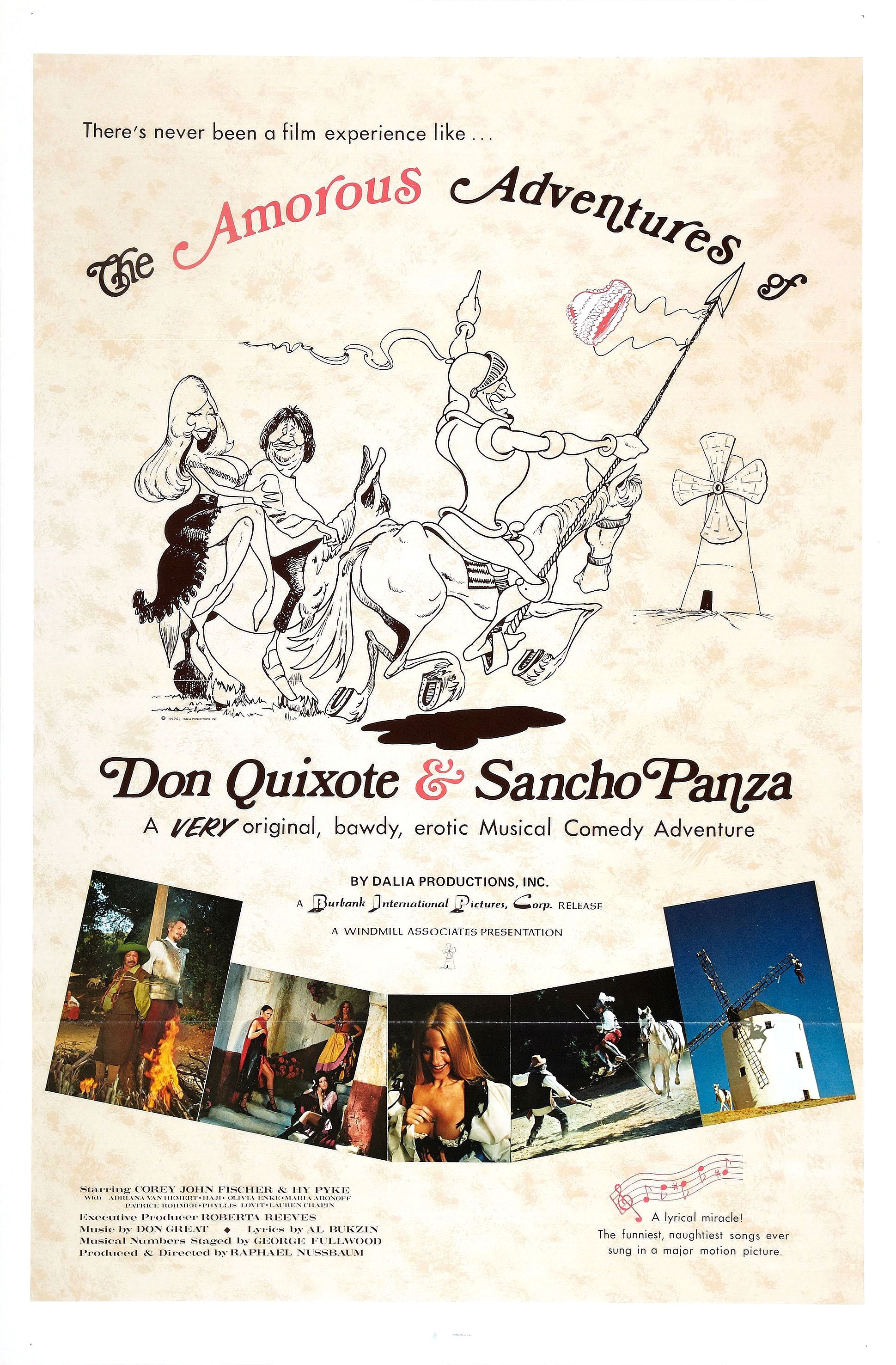 The Amorous Adventures Of Don Quixote And Sancho Panza 1976 Imdb