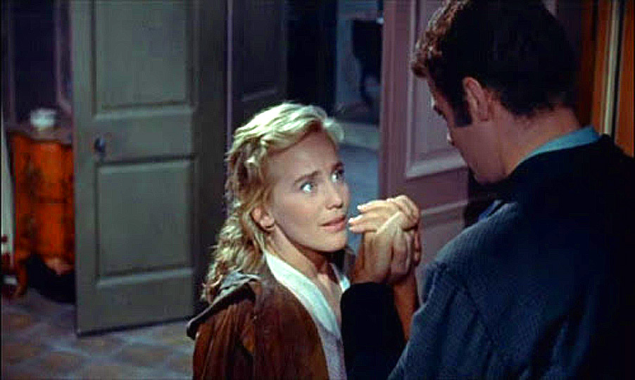 Christian Marquand and Maria Schell in Une vie (1958)