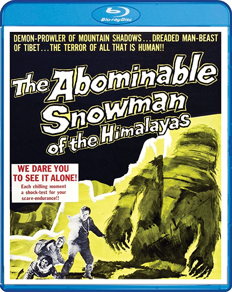 Peter Cushing, Robert Brown, Maureen Connell, Forrest Tucker, and Richard Wattis in The Abominable Snowman (1957)