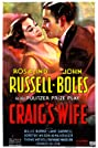 Craig's Wife (1936) Poster