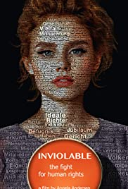 Inviolable - The Fight for Human Rights Poster