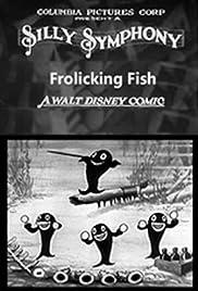 Frolicking Fish Poster