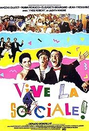Vive la sociale! Poster
