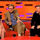 Christina Ricci, Ricky Gervais, and Stephen Merchant in The Graham Norton Show (2007)