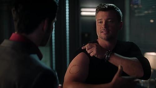 Lucifer: Pierce Shows Off His Tattoo