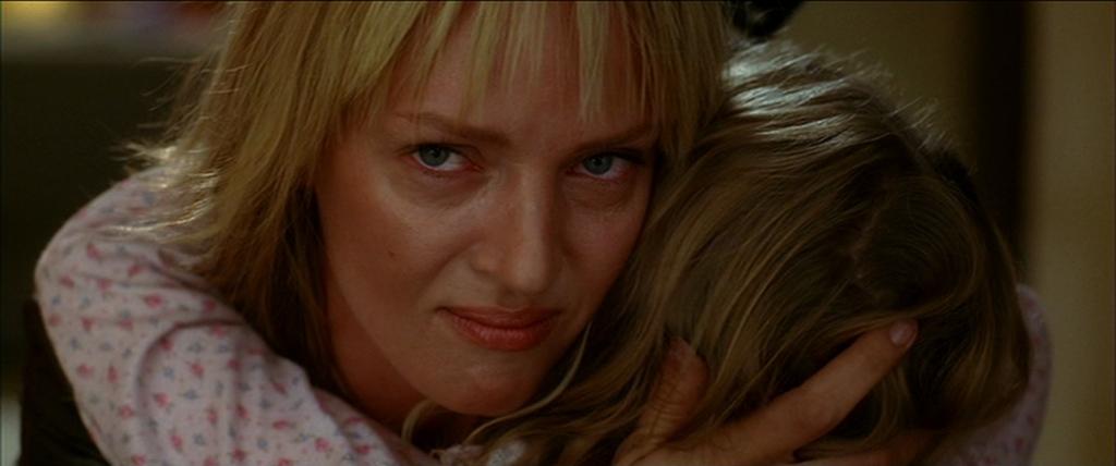 Uma Thurman and Perla Haney-Jardine in Kill Bill: Vol. 2 (2004)