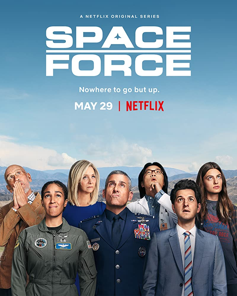 Space Force S01 2020 Hindi Complete Netflix Web Series 999MB HDRip Download
