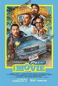 Sal Vulcano, Brian Quinn, James Murray, and Joe Gatto in Impractical Jokers: The Movie (2020)