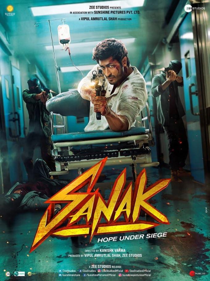 Sanak 2021 Hindi Movie DSNP HDRip 450MB Download