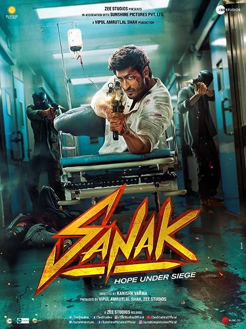 Sanak 2021 Hindi Movie 720p | 480p DSNP HDRip ESub 800MB Download