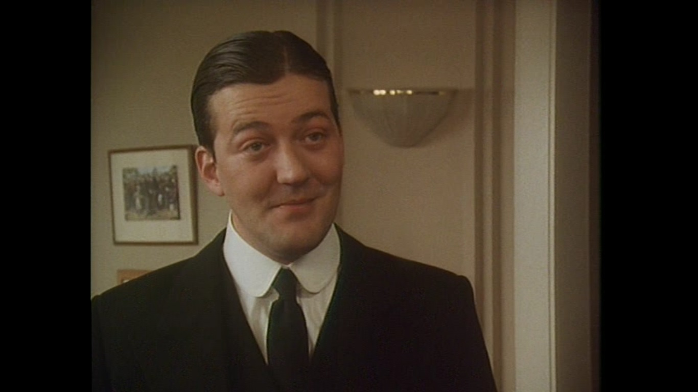 Stephen Fry in Jeeves and Wooster (1990)