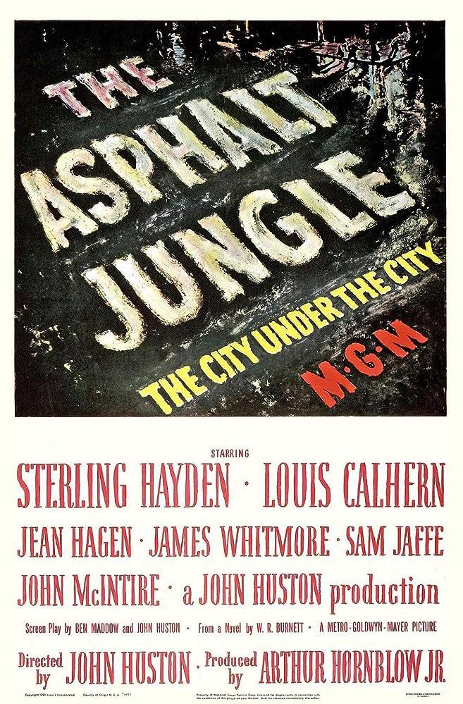 Giungla d'asfalto (1950) HD