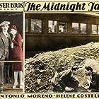 Helene Costello, Tom Dugan, Antonio Moreno, and William Russell in The Midnight Taxi (1928)