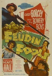 Feudin' Fools (1952) Poster - Movie Forum, Cast, Reviews