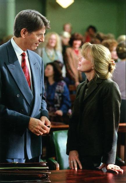 Sissy Spacek and Peter Coyote in Midwives (2001)