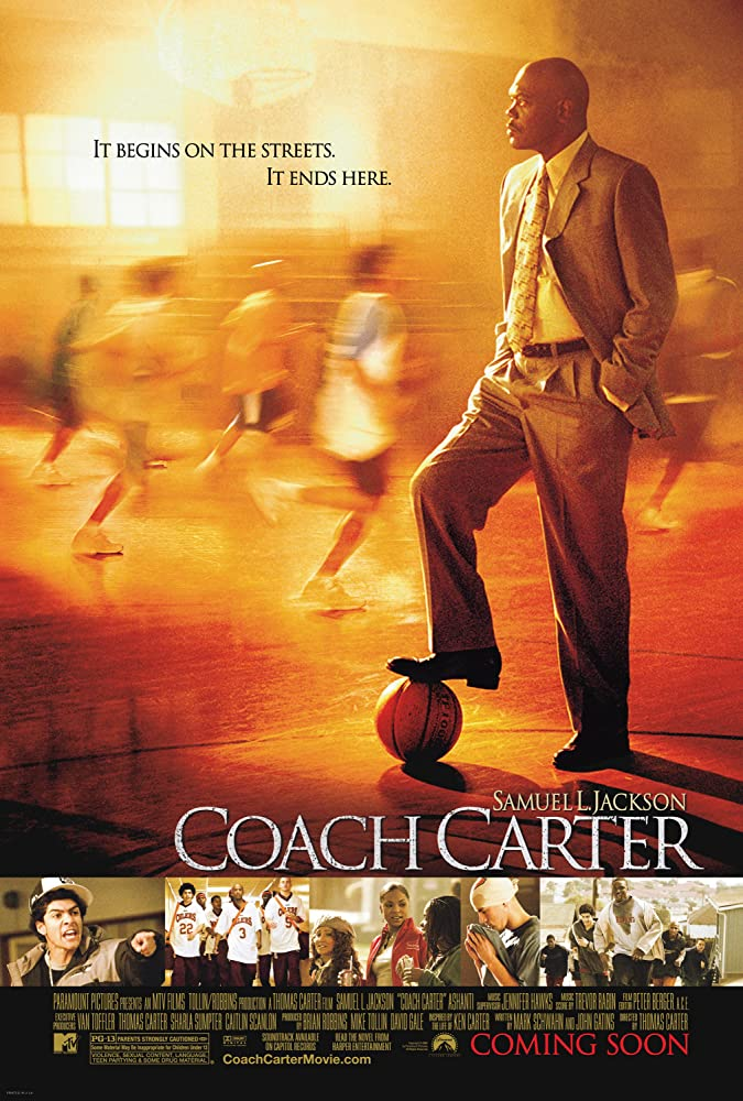 Coach Carter 2005 Hindi Dual Audio 480MB BluRay ESubs Download