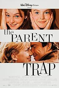 Dennis Quaid, Natasha Richardson, and Lindsay Lohan in The Parent Trap (1998)
