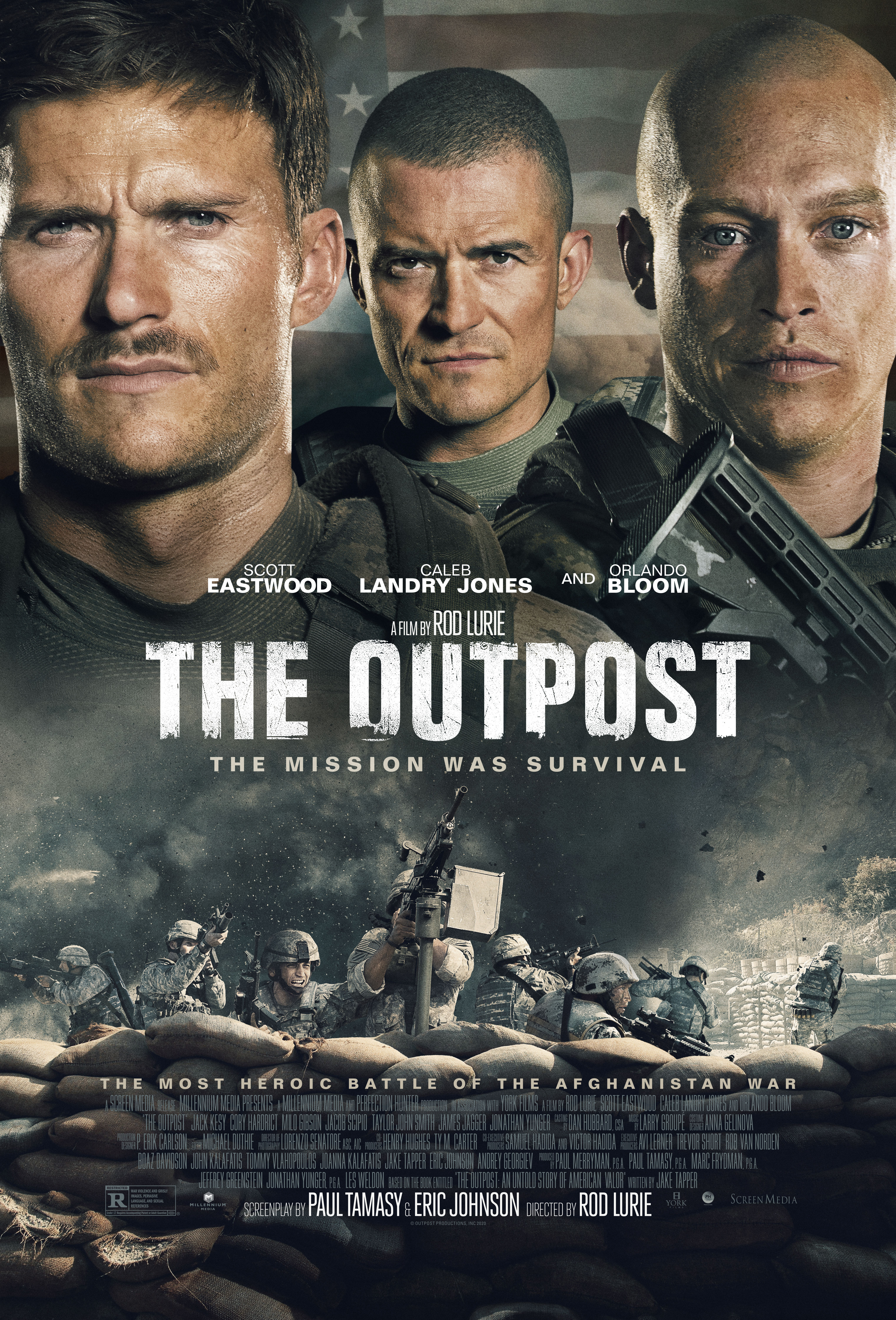 A Soldiers Christmas Cast  2020 The Outpost (2020)   IMDb