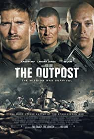 Orlando Bloom, Scott Eastwood, and Caleb Landry Jones in The Outpost (2019)