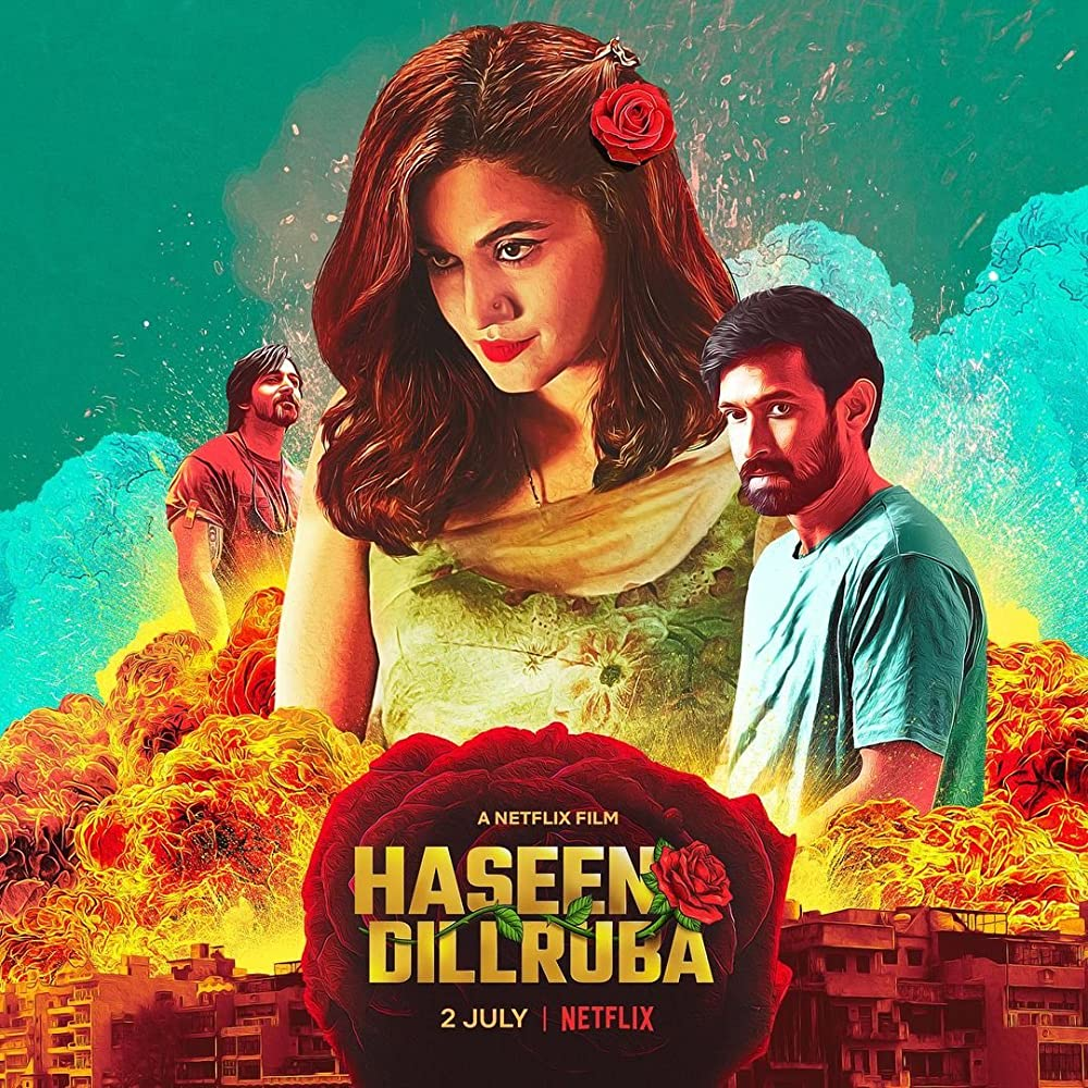 Haseen Dillruba 2021 Hindi Movie 480p NF HDRip MSub 400MB Download