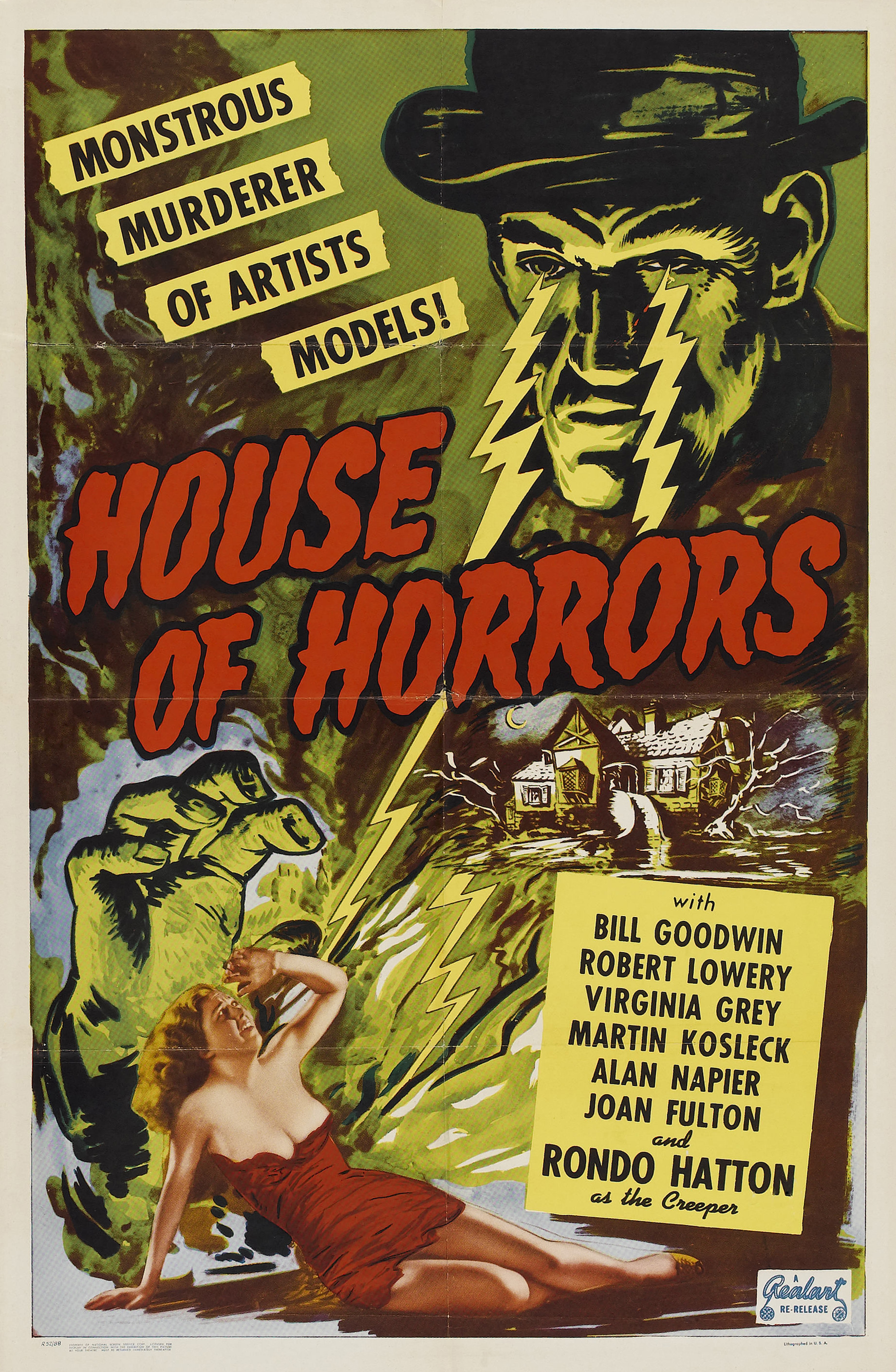 Rondo Hatton in House of Horrors (1946)
