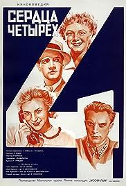 Four Hearts(1945) Poster - Movie Forum, Cast, Reviews