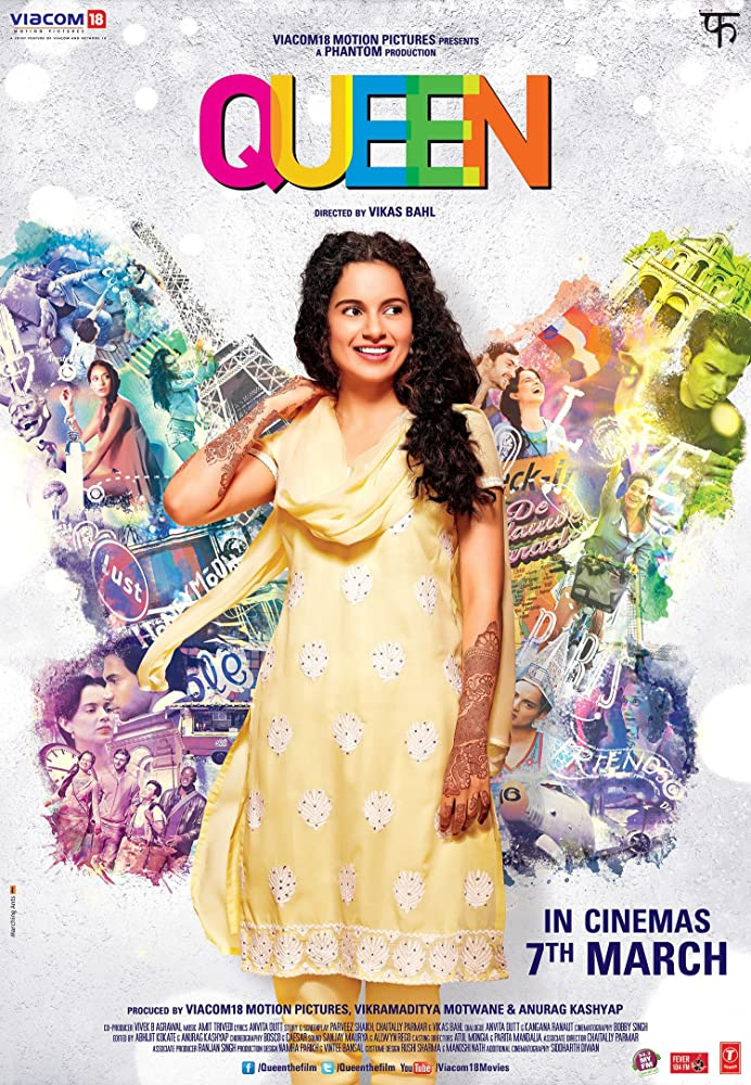 Queen 2014 Hindi 450MB BluRay ESubs Download