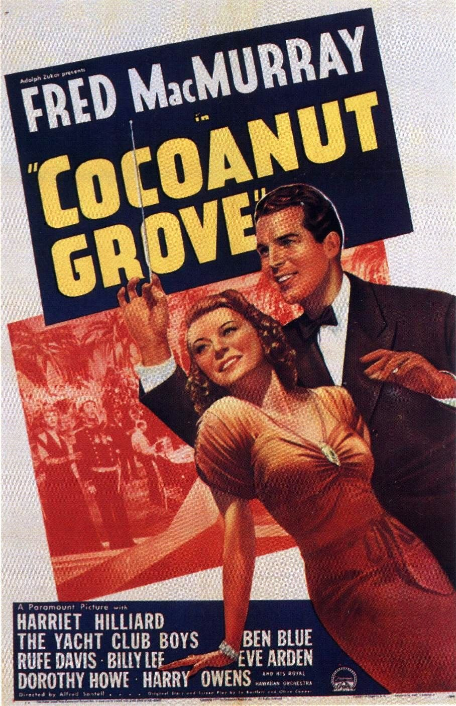 Harriet Nelson and Fred MacMurray in Cocoanut Grove (1938)