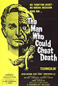 Anton Diffring in The Man Who Could Cheat Death (1959)