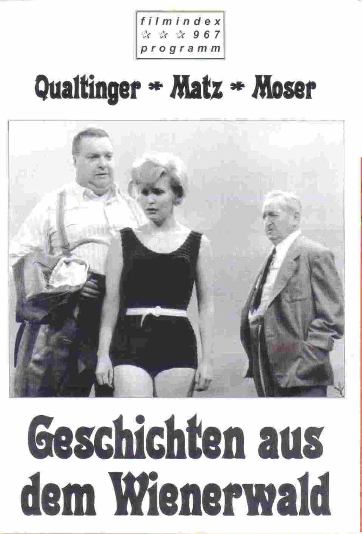 G Schichten Aus Dem Wienerwald Tv Movie 1961 Imdb