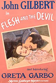 Greta Garbo and John Gilbert in Flesh and the Devil (1926)