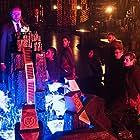 Trevor Einhorn, Rick Worthy, Summer Bishil, Hale Appleman, Jade Tailor, Daniel Nemes, Arjun Gupta, and Jason Ralph in The Magicians (2015)
