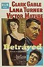 Betrayed (1954) Poster