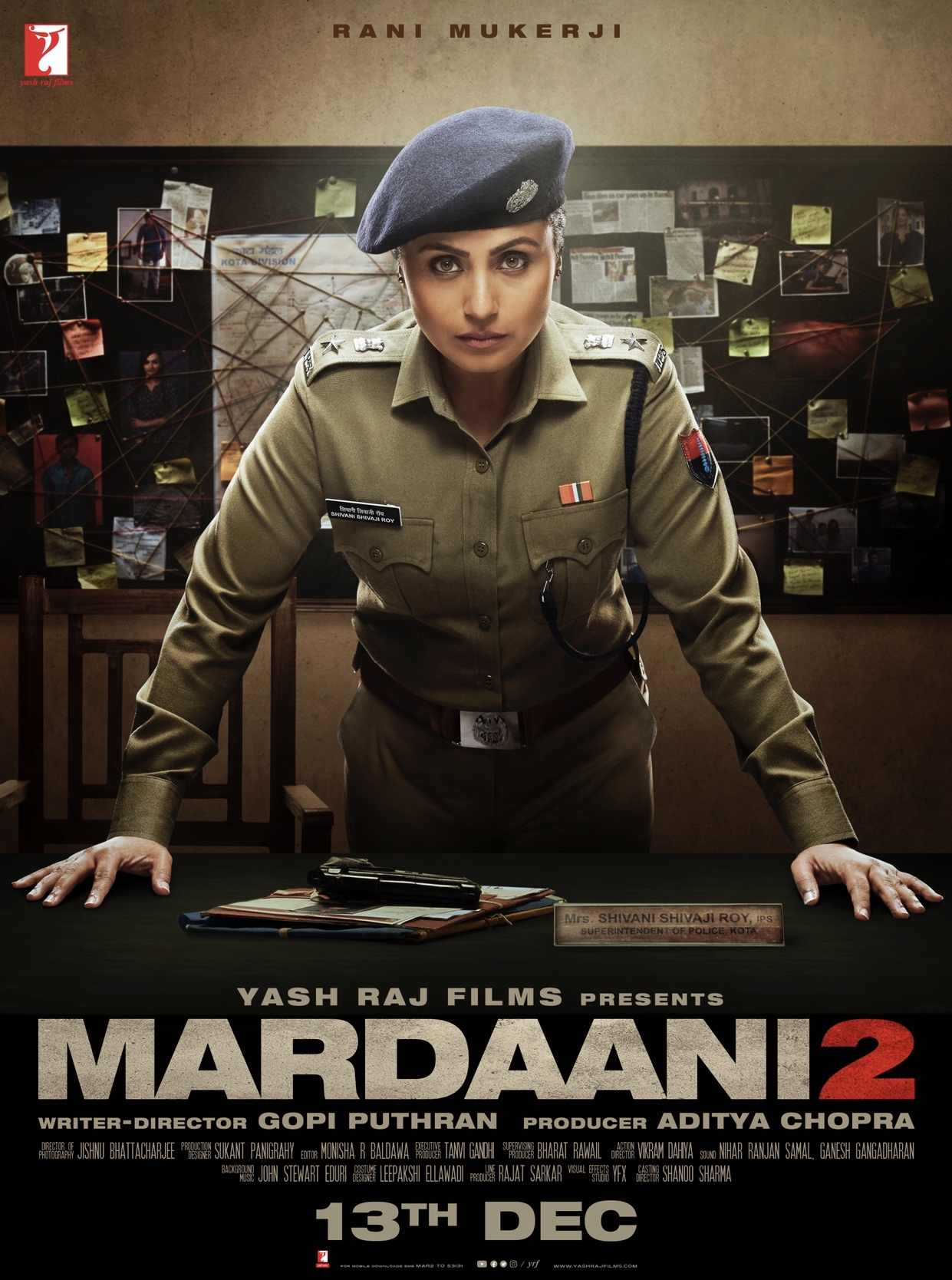 Mardaani 2 (2020) Hindi Amazon 720p WEB-DL x265 AAC 850MB