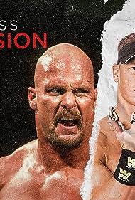 Steve Austin, Dwayne Johnson, and John Cena in WWE Ruthless Aggression (2020)