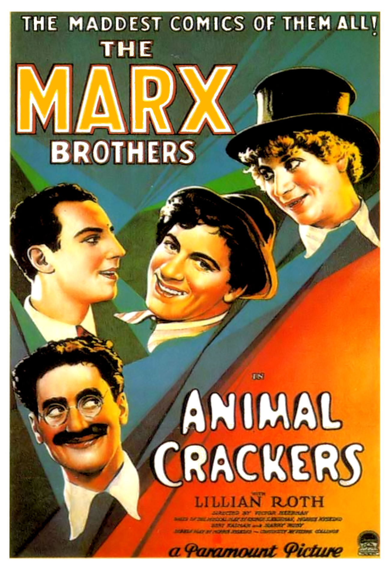 Image result for animal crackers marx poster