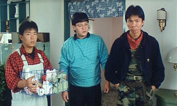 Tai-Bo, Chi Kit Lee, and Hoi Mang in Biao ge dao (1987)