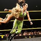 Pamela Martinez and Leah Van Dale in WWE NXT (2010)