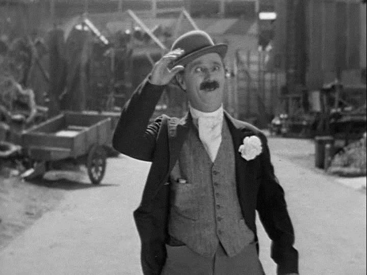 Ben Turpin in Make Me a Star (1932)