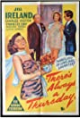 There's Always a Thursday (1957) Poster